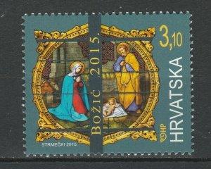 Croatia 2015 Christmas MNH stamp
