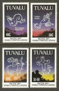Tuvalu #586-9 NH Constellations