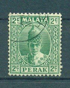 Malaya - Perak sc# 85 used cat value $.25