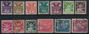 Czechoslovakia #82-94  CV $3.50