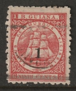 British Guiana 1881 Sc 92 used