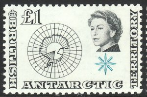 1963 BAT British Antarctic QE portrait type full set MLH Sc# 1 / 15 CV $172.15