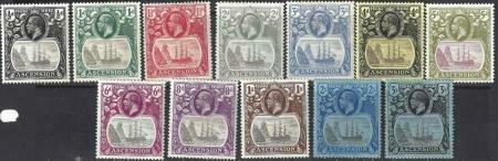 Ascension 1924-1933 SC 10-21 MLH SCV $436.00 Set