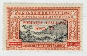 Italia Colonie Somalia Manzoni 1924 20b su 50c MH* 18P39F129