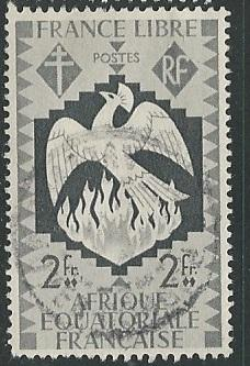 French Equatorial Africa  + Scott # 150 - Used