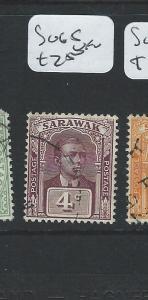SARAWAK  (B0910) BROOKE 4C  SG 65  VFU