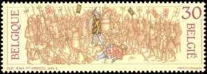 Belgium #1547-1549, Complete Set(3), 1994, Never Hinged