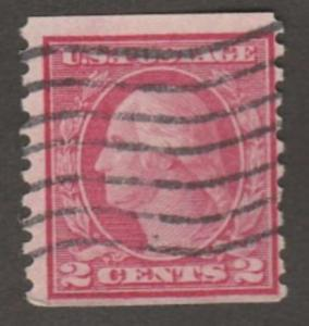 U.S. Scott #454 Washington Stamp - Used Single