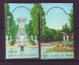 J20472 Jlstamps 2004 france set mnh #3029a-b parks