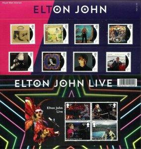 2019 ELTON JOHN - PRESENTATION PACK - UNMOUNTED MINT