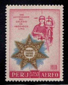 Peru Scott C157  Lima Bar Association stamp MNH**