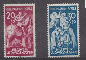 Germany (Rhein-Palatinate),6NB1-2,Ludwigshafen Sgls.,**MNH**