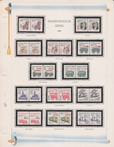 United States of America Postal Stamps