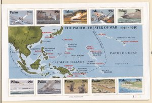 Palau # 299, World War II in the Pacific, NH, 1/2 Cat.
