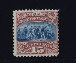 118 Scarce unused with PSE cert grade 70 with nice color cv $ 3750 ! see pic !