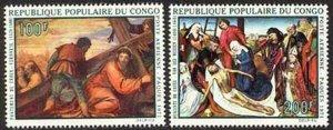 Congo, PR 1971 Paintings set Sc# C111-15 NH