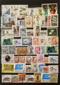 POLAND All Different Stamp Lot Collection Used T3861