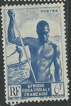French Equatorial Africa  + Scott # 180 - MH