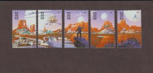 US,3238-42,SPACE, COMPLETE SET,1990'S COLLECTION,MINT NH VF