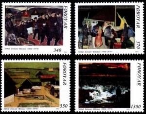 STAMP STATION PERTH Faroe Islands #228-231 Fa225-228 MNH CV$7.45