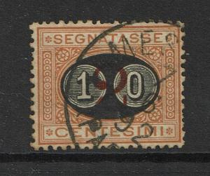 Italy SC# J25, Used, Hinge Remnants, see notes - S4249