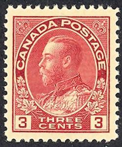 Canada #109     Mint Superb  NH  - Lakeshore P...