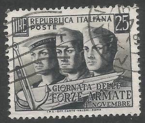 ITALY 614 VFU W756-1