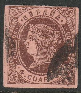Spain Sc 56 used fresh colour
