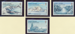 South Georgia (& South Sandwich Islands) Stamps Scott #135-8, Mint Never Hing...