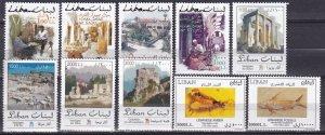 Lebanon #562-71  MNH  CV $55.40 (Z3028)