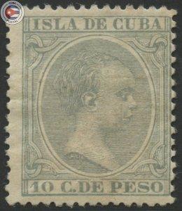 Cuba 1896 Scott 149 | MHR | CU18132