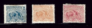 French Guiana 52/55/56 MH 1905-22 issues       (P83)