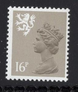 Great Britain Scotland  #SMH29   MNH Q E II  16p  Machin