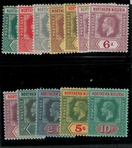 Northern Nigeria 1912 SC 40-51 Mint SCV $115.00 set
