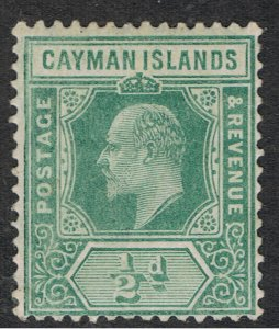 CAYMAN ISLANDS 1901 - 07 KING EDWARD VII
