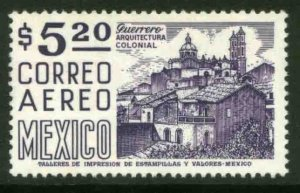 MEXICO C449, $5.20 1950 Def 8th Issue Fosforescent coated. MINT, NH. VF.