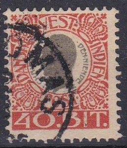 Danish West Indies Sc #35 Used
