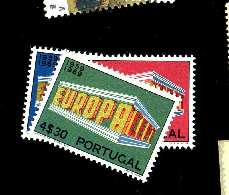 Portugal #1038-40 MINT VF OG NH Cat$ 17.85