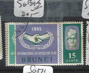 BRUNEI  (PP0905B)   ICY  SG 134-5   VFU