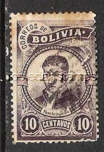 BOLIVIA 50 USED THIN AS IS 525G