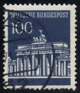 Germany #956 Brandenburg Gate, used (0.60)
