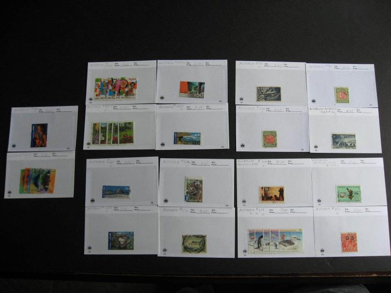 Hoard breakup sales cards AUSTRALIA part 6of6 Possible misidentified &mixed cond