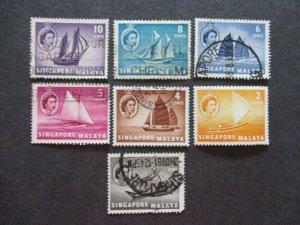 Singapore #28-34 Used - (1C9) WDWPhilatelic 3