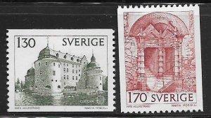 SWEDEN,1235-1236 HINGED, OREBRO CASTLE