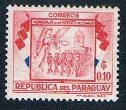 Paraguay Soldiers Marching 10 - pickastamp (PP9R506)