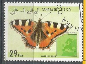 SAHARA, 1994, CTO 29p Butterfkies Scott Cinderella