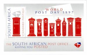 SOUTH AFRICA 1009 MNH S/S BIN $.50