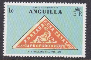 Anguilla #349 single F-VF Mint NH ** Sir Rowland Hill, Stamp on Stamp