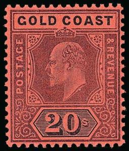 Gold Coast Scott 38-48 Gibbons 38-48 Mint Set of Stamps