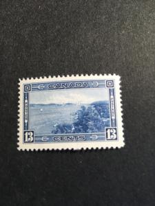 Canada USC #242 Mint VF-NH Cat. $30.00 The 1938 Halifax Harbour Stamp